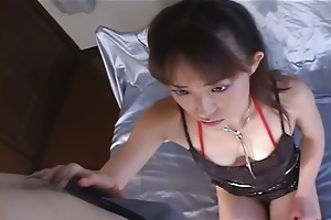 concupiscent milf in black nylons on her knees