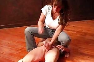 older female-dominator extraordinary balls