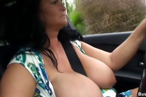 breasty reny public flashing video