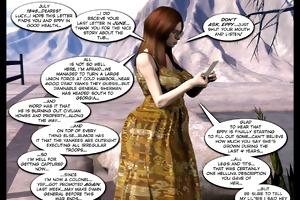 3d comic: six gun sisters. episode 1