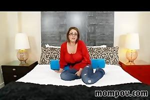 large breasts older mother i taking trio ramrod
