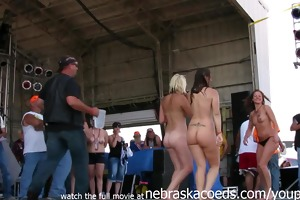moist ultra sexy iowa biker hotties undressed in