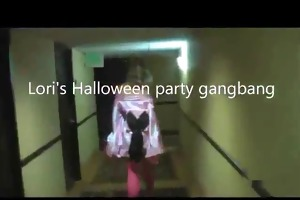 hawt loris halloween party bang