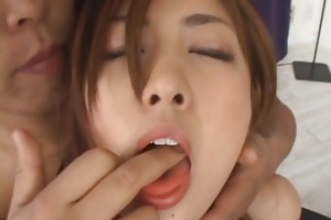hot honey receives fingered, frenched and fucked