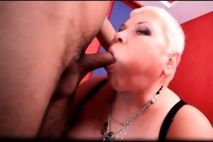 obese sexually excited naughty large boobed blond