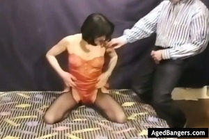 hirsute wife having her arsehole plowded