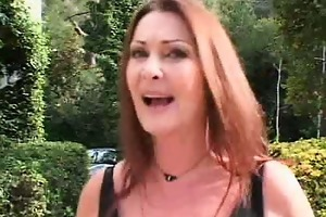 sexy mature redhead receives nasty