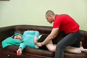 lad drilled his drunk mama