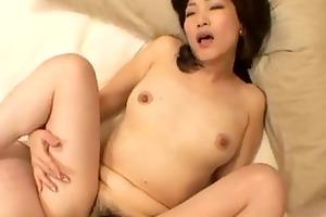 setsuko miwa oriental mama enjoying a worthy fuck