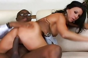 breathtaking raven haired d like to fuck rides on