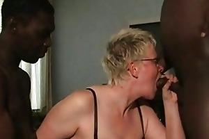 dark chaps oral pleasure from aged white