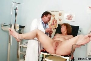 indecent doctor fucking his aged patient