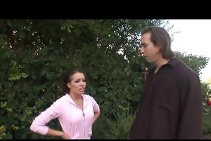 mother i vanessa outdoor anal gangbang