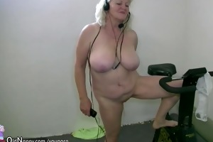 big beautiful woman granny and old older have