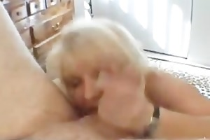 naughty mommy shows her juggs and sucks cock part5