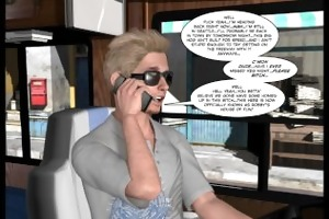3d comic: the uncanny valley. video 1