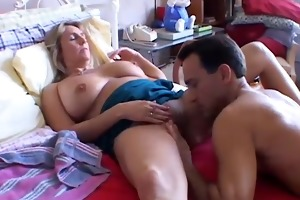glamorous breasty older playgirl boned and blasted