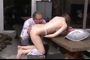 marvelous beata undine receives laid with oldman