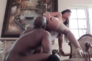 lisa ann has pleasure with prince large darksome