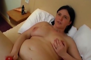 fat wife is filmed for the first time