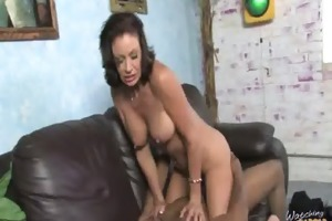 lewd milf bonks juvenile darksome fellow 2