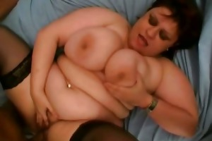 fat dark brown mother i receives screwed hard