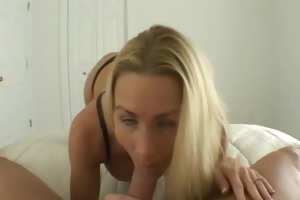 allie receives a creampie – dilettante exposed