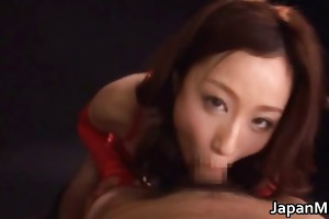 highly concupiscent japanese milfs engulfing part6