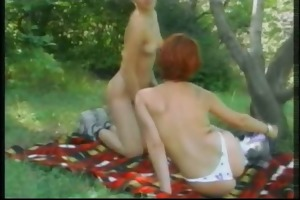 outdoor lesbo women sex camping