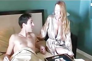 cougar seduces foreign swap student