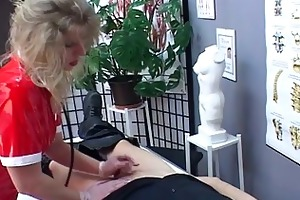 golden-haired mother i nurse acquires slutty upon