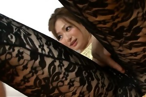 japanese wench yukina momose team-fucked by dongs