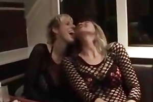 hawt older lady acquire fisted in public fast