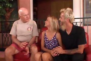 blond swinger bonks total stranger as hubby