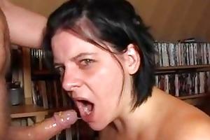 extraordinary deepthroat2 gag by german wife!!!!!
