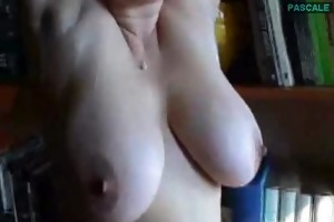 my wifes enormous natural bra buddies