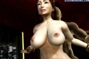 breasty animated d like to fuck with nylons