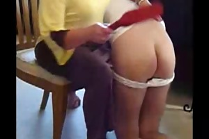spanked by mamma