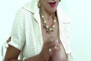 female-dominant lady sonia enjoys jerking off off