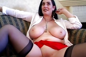 marvelous breasty aged group-sex