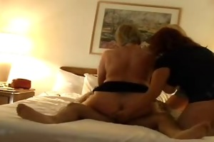 3 aged ladies in groups sex with younger boy part
