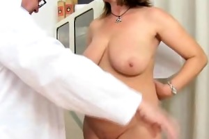 cougar gyno in addition to dildoes and group-sex