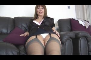 aged breasty secretary talks bawdy